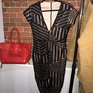 Sexy Black Sequin Midi Dress 🔥🔥