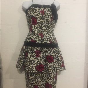 Richie Freeman Vintage for Terijon dress flower