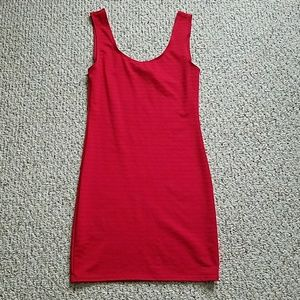 BUNDLE ONLY - Wet Seal Red Bodycon Dress