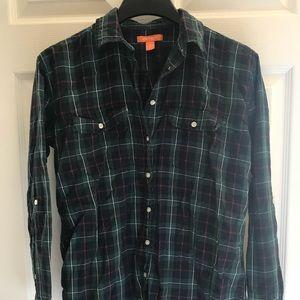 Joe Fresh Plaid Shirt Size S