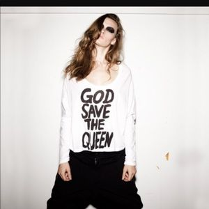 One teaspoon god save the queen top