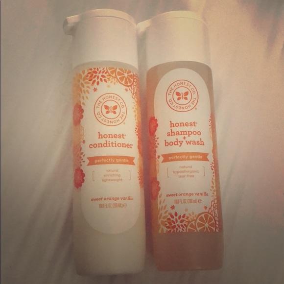 The Honest Company Shampoo & Conditioner NWT