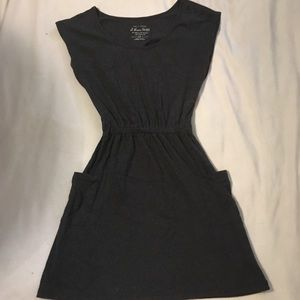 Charcoal Gray Pocket Dress from Heritage 1981