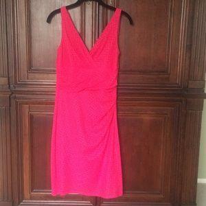 American Living, hot pink dress-