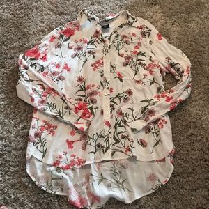 Cute floral blouse