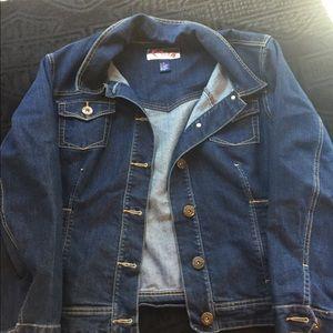 Jackets & Blazers - Jean jacket plus size