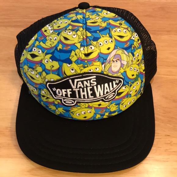 3f941861903467 Vans Accessories | Toy Story Aliens Buzz Lightyear Trucker Hat ...