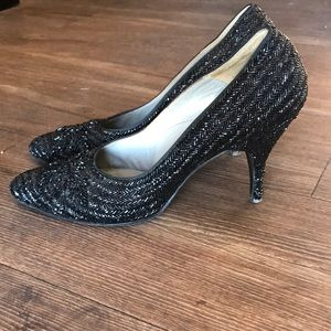Beaded heels vintage
