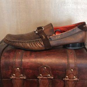 Stylish Robert Wayne Men's Leather/Suede Shoes