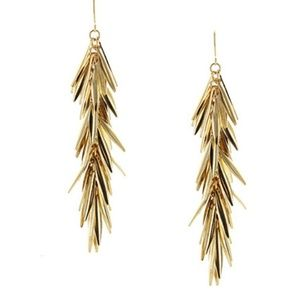JUST IN 🔶️ Gold Cluster Drop Earrings