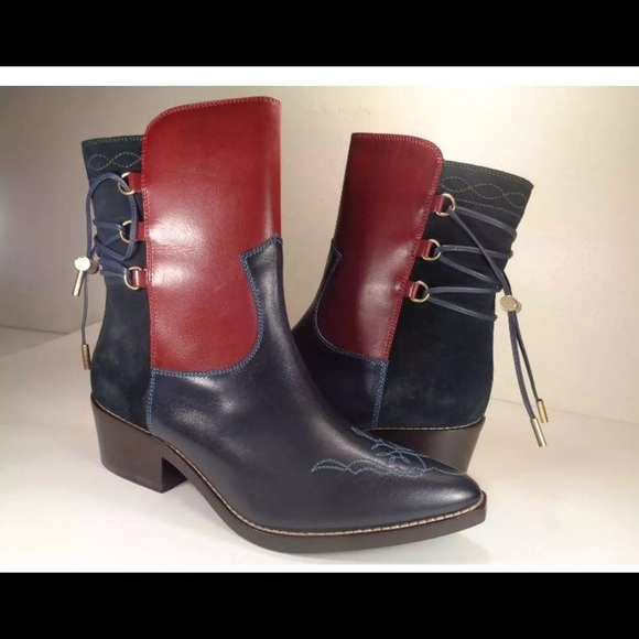b11abd9993b New Tommy Hilfiger collection cowboy boots 37 NWT