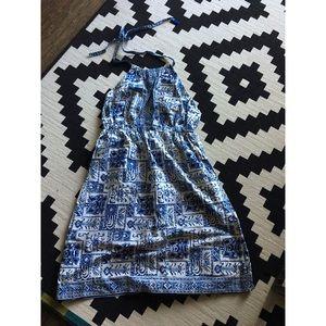 Dresses & Skirts - 🗝vintage 70s halter dress🗝