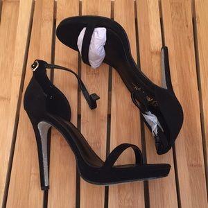NWT Nasty Gal Cora Glitter Heel
