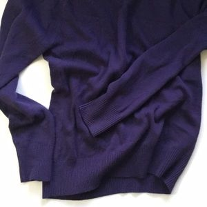 French Connection Sweaters - French Connection purple pullover cardigan
