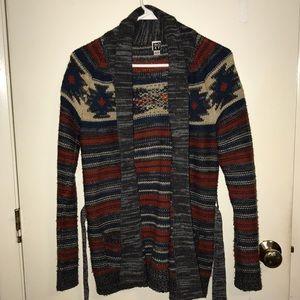 Multicolor knit sweater