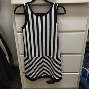 Black and white Sanctuary dress