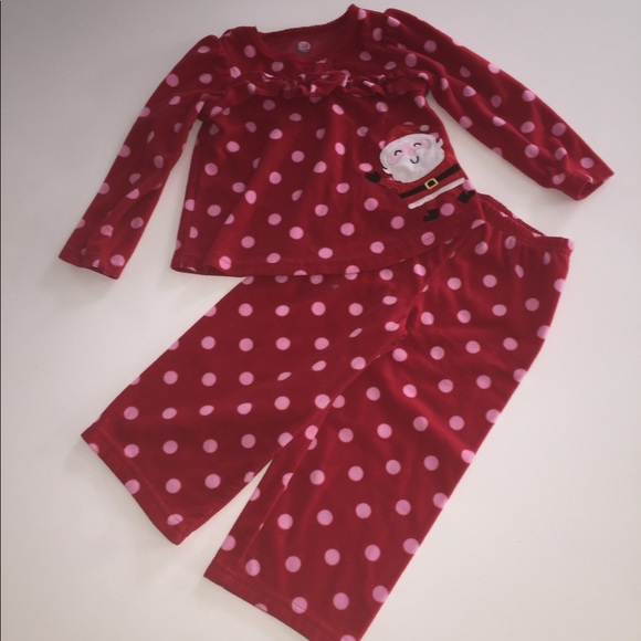 8ed91337b Child Of Mine Carters Christmas Santa Pajamas 3t