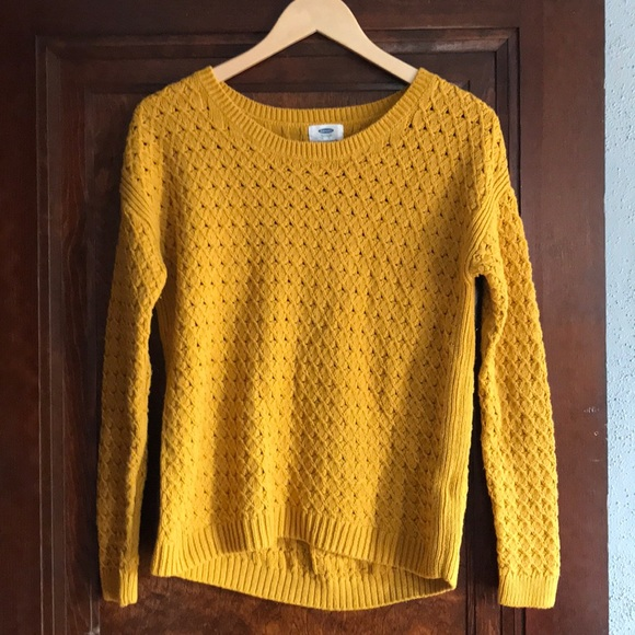 49% off Old Navy Sweaters - Old Navy Mustard Sweater from ...