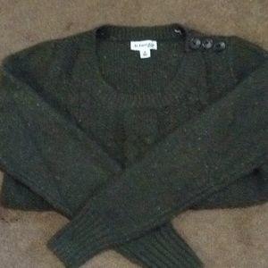 Dark green ladies sweater