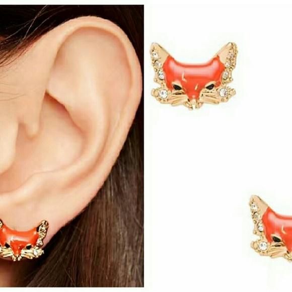 b9c984a3e73cb Kate spade Fox earrings