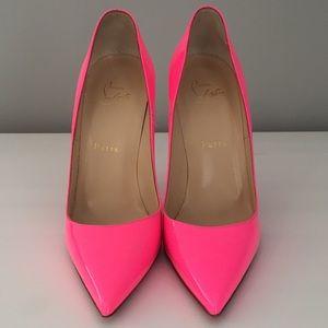 Christian Louboutin So Kate 120 mm shocking pink