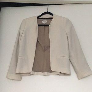 Wilfred cream blazer jacket