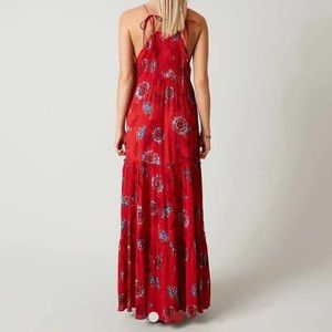 c9ebcd958680 Free People Dresses - Free People Garden Party Maxi Dress Red XS S