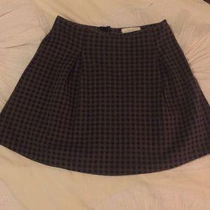 Boutique Plaid Skirt