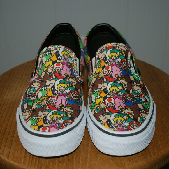 vans mario shoes