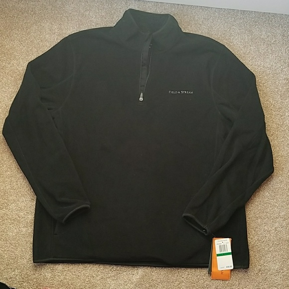 b0503077261d2 Field & Stream Shirts   Field Stream Mens Polar Fleece Sweatshirt ...