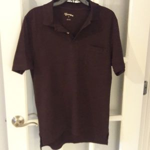 Other - Brown polo shirt size M