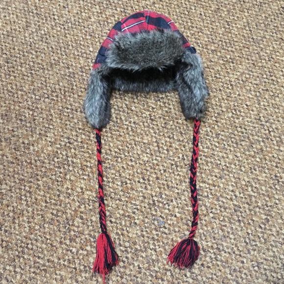 1b62d6df4 Buffalo Plaid Trapper Hat