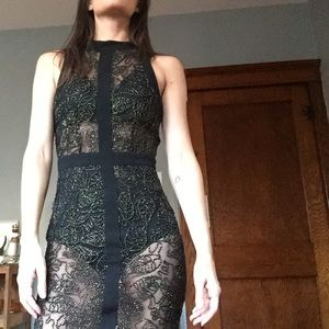 Dresses & Skirts - New well-made Aria rebel sheer dress