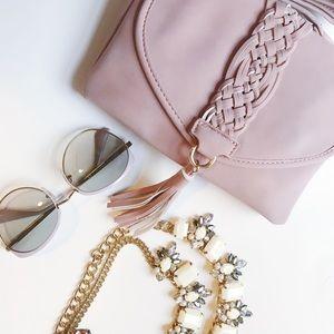 Blush Pink Crossbody🎀