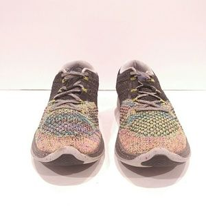 huge selection of 3db05 11218 Nike Shoes - Womens Nike Flyknit Lunar3 ID Multi-color Rainbow