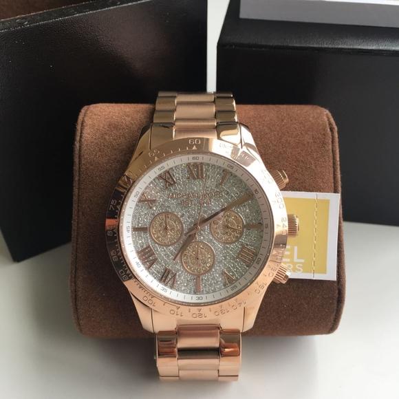 9be7f36fb606 NEW Michael Kors Rose Gold Ladies Watch MK5946