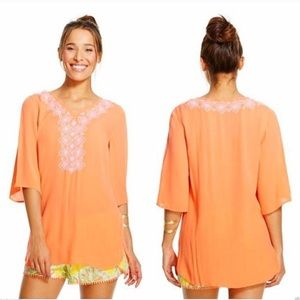 LILLY PULITZER for Target Orange Tunic Top