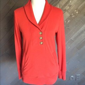 Banana Republic Dressy Red Sweatshirt ❤️❤️❤️