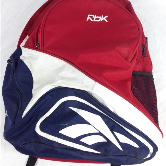 Vintage Reebok Original Color Way Print Backpack. M 5a2330bbc6c795b5b504d1bf