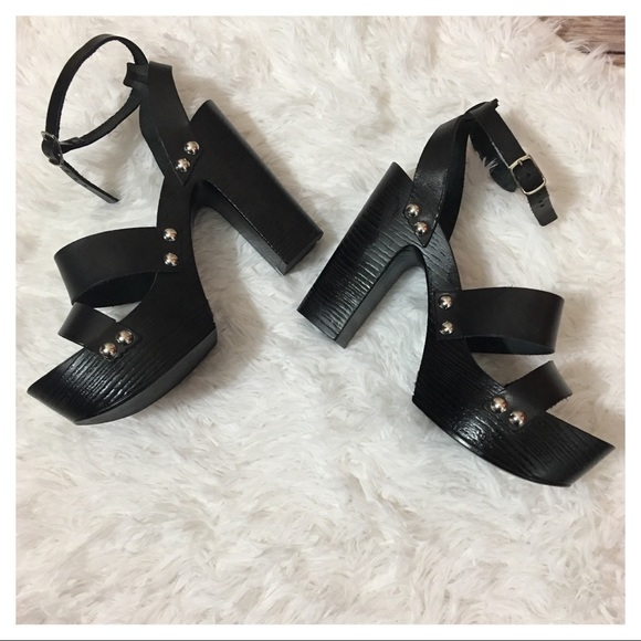 c0ecb1c326f Charles David Shoes - Charles David Ellie Platform Heel Sandal in Black