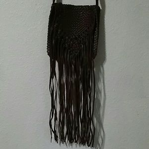 American Eagle Outfitters fringe crossbody