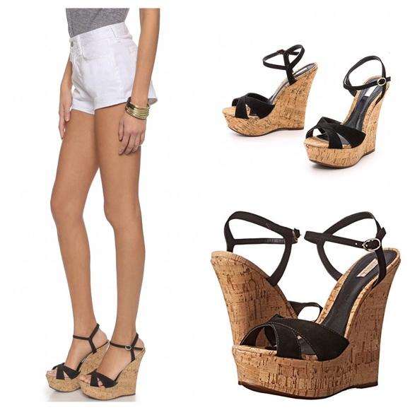 008ef39168 SCHUTZ Shoes | Emiliana Platform Cork Wedge 10 Sandal | Poshmark