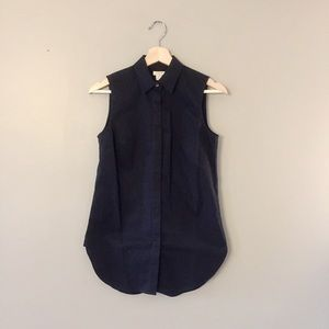 J.Crew factory sleeveless shirt 00
