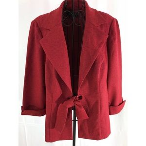 Jackets & Blazers - Perceptions Tie Waist Jacket