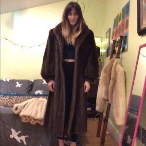 Full Length Mink Coat-Vintage