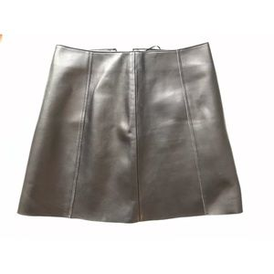 T Alexander wang A- line leather skirt. Size 2.