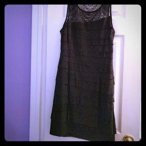 Nine west size 8 black dress
