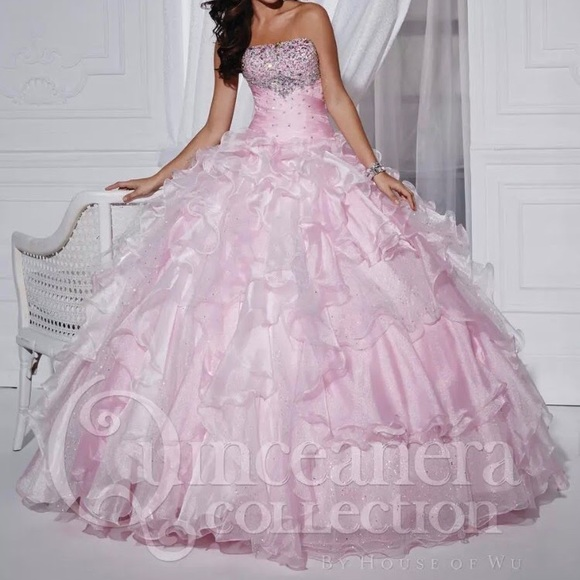 4b9e1347c0 Quinceanera Collection Empire prom gown 10