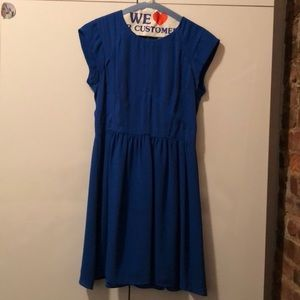 Amazing blue simple dress!