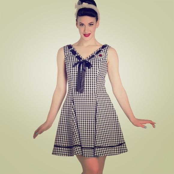 d4591246337f Hell Bunny Ladybird Mini Dress Ladybug X-Small